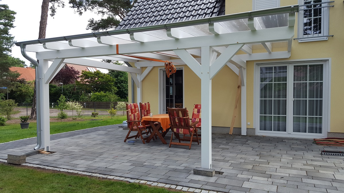 Zadaszenia holz carport doppelcarport und berdachung for Car port pl