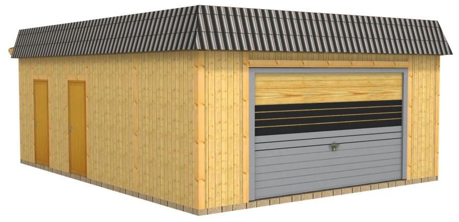 Klassische Holz Carport Doppelcarport Und Uberdachung Aus Polen