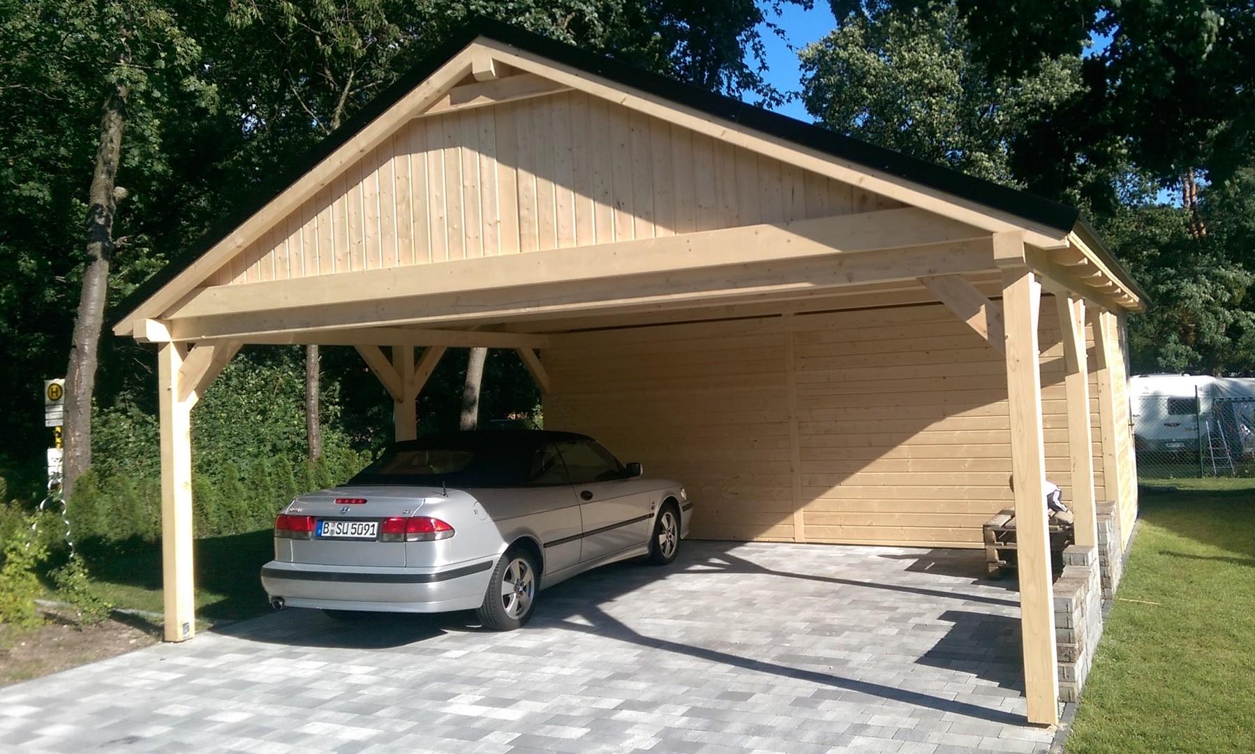 projekte carport aus polen berdachung polnische holzprodukte carport holz. Black Bedroom Furniture Sets. Home Design Ideas