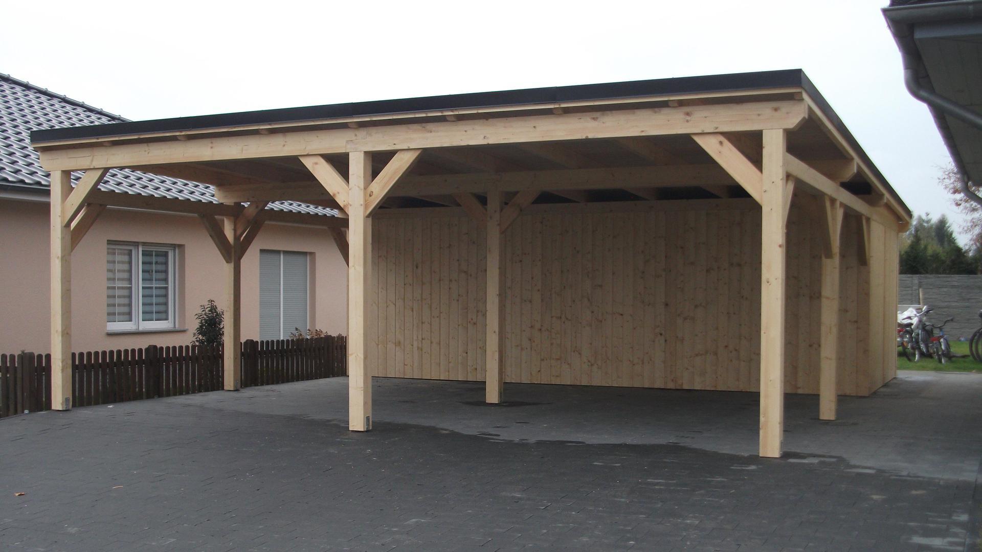 Projekte - Carport aus Polen, Überdachung, Polnische Holzprodukte ...