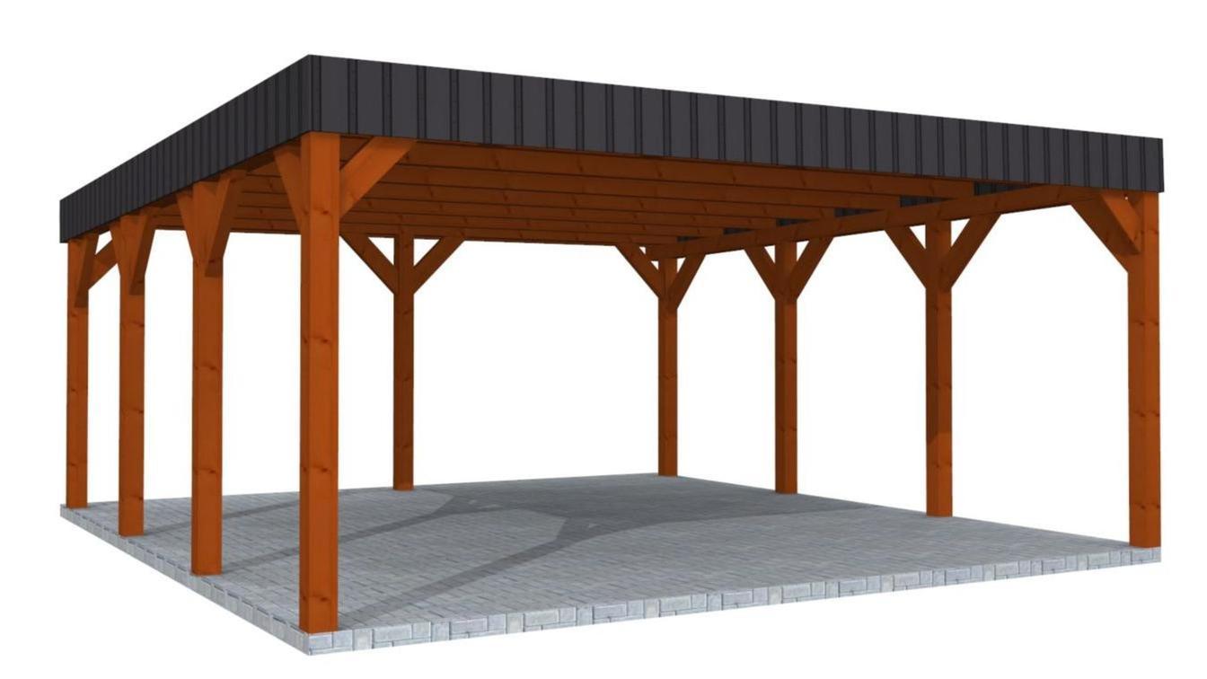 projekte carport aus polen berdachung polnische. Black Bedroom Furniture Sets. Home Design Ideas